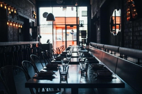 A clean and well-managed restaurant interior